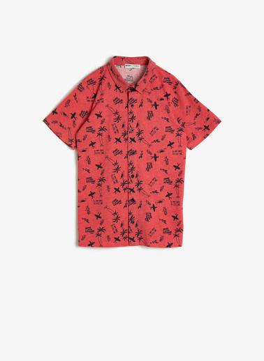 Koton Kids Gömlek Kırmızı